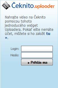 Ceknito uploader